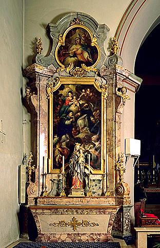 AUTELS(2);RETABLES(2) : ensemble des autels secondaires