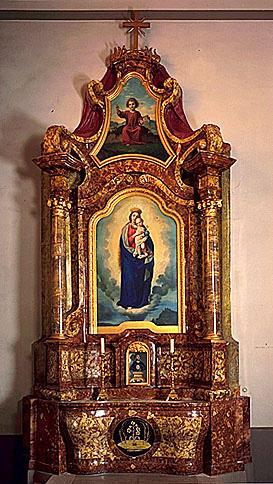 2 autels-retables secondaires