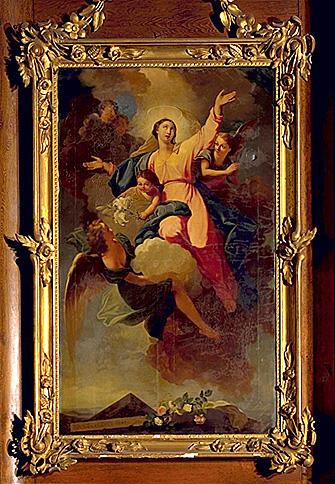 4 tableaux : Assomption, sainte Agathe