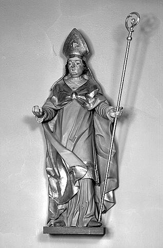 Statue : Saint Martin (?)