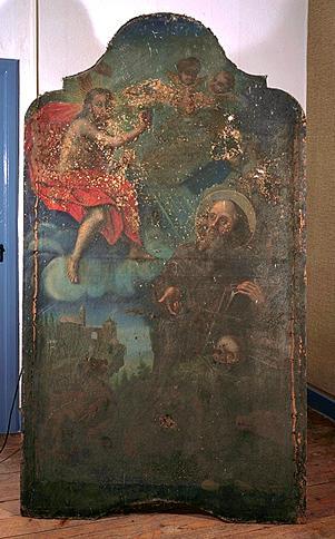 tableau : Saint Antoine ermite