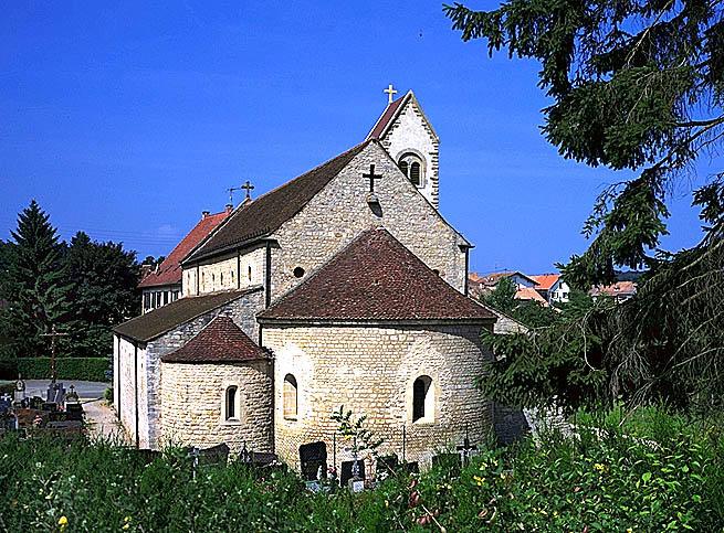Prieuré de bénédictines Saint-Jacques-le-Majeur, puis église paroissiale
