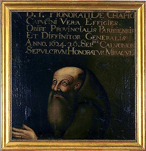 tableau : Portrait d'Honoré de Champigny
