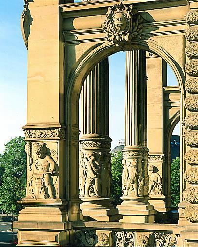 Palais impérial allemand ; actuellement Palais du Rhin