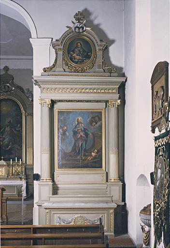 Autels secondaires de la Vierge et de saint Joseph