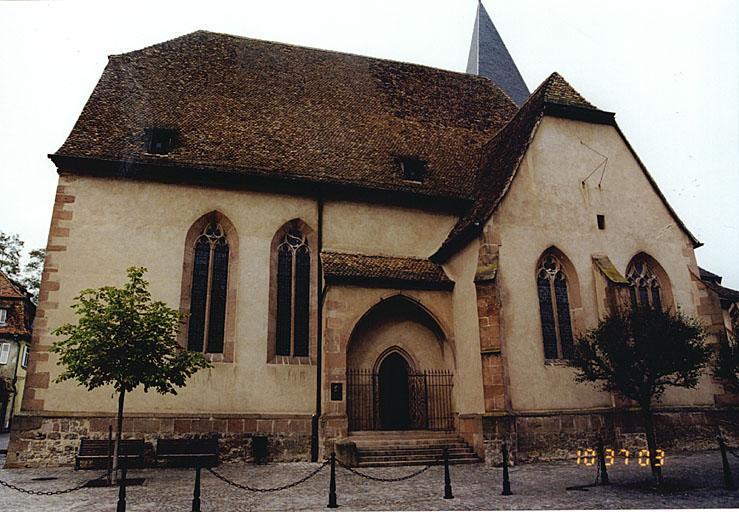église paroissiale Saint-Jean, actuellement temple