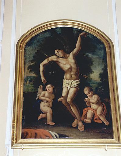 tableau : Martyre de saint Sébastien