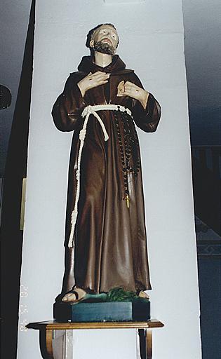 Statue : saint François d'Assise