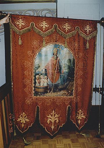 bannière : saint Nicolas