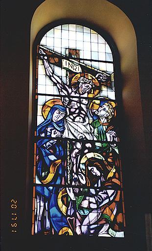 Verrière : Crucifixion