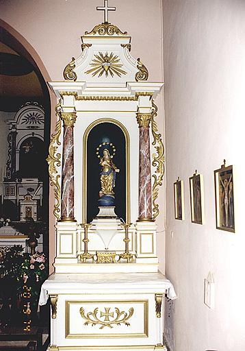 autel-retable secondaire