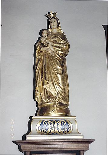 Statue : Vierge à l'Enfant et de l'Immaculée Conception