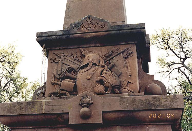 Monument commémoratif des cuirassiers de Reichshoffen (J)
