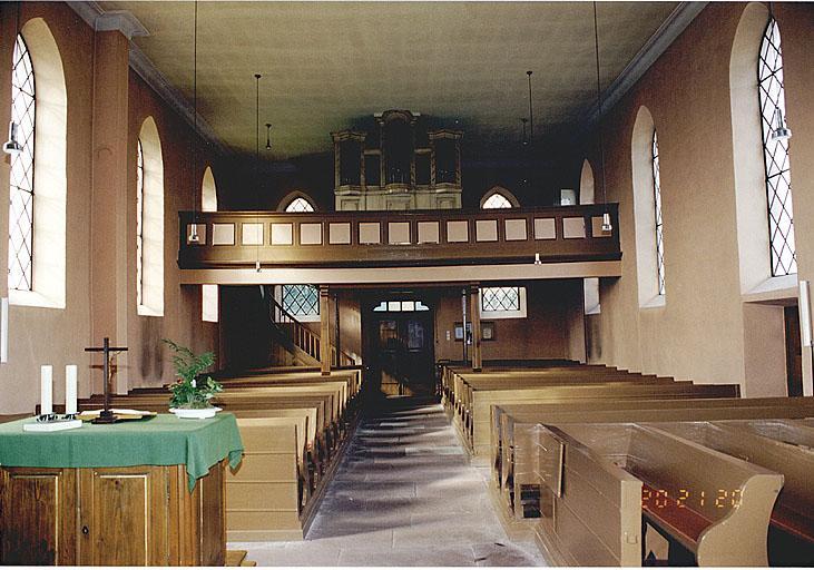 Eglise de la Toussaint, église protestante (simultaneum)