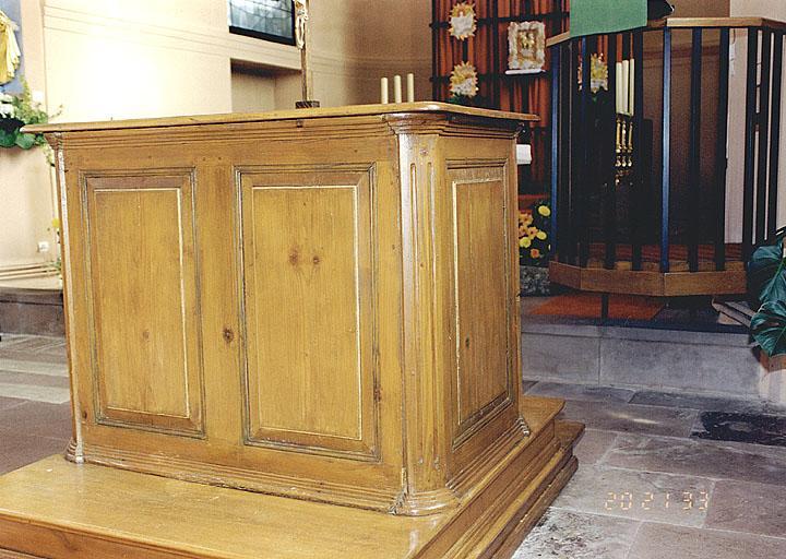 autel protestant
