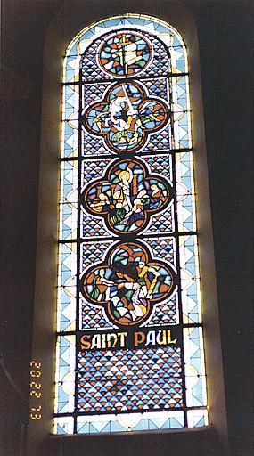 Verrière : vie de saint Paul