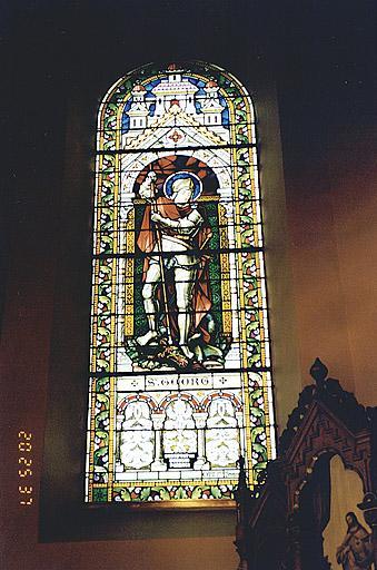 Verrière : saint Georges