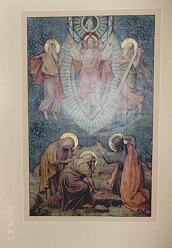 peinture monumentale : Transfiguration