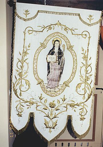 bannière : sainte Odile