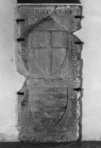 dalle funéraire de Rodolphe et Elsa de Berckheim