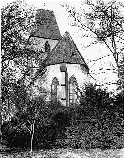 Eglise abbatiale, puis église paroissiale Sainte-Walburge