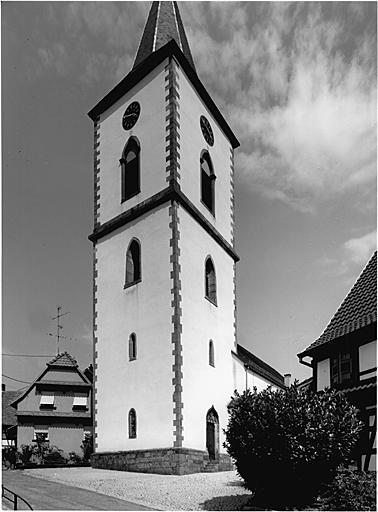Église paroissiale Saint-Martin, actuellement temple