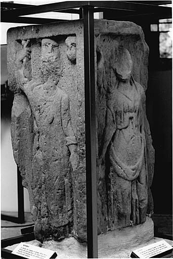 Stèle à quatre divinités