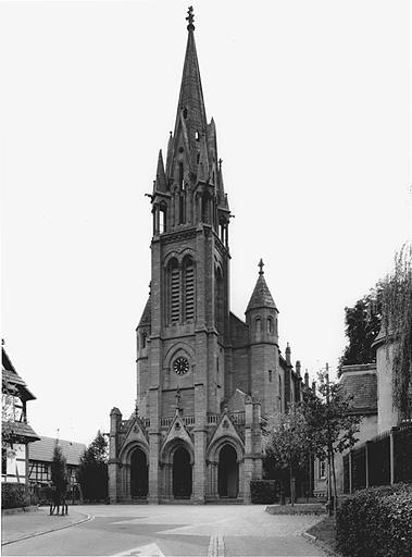 Eglise luthérienne dite église de la Paix