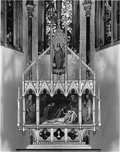 retable d'autel protestant