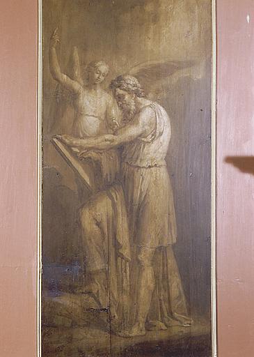 ensemble de 4 tableaux : Evangélistes