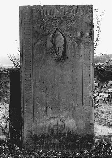 Dalle funéraire de l'abbé Pierre Schwartz