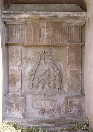 tombeau de Catherine Saglio, née Arnold