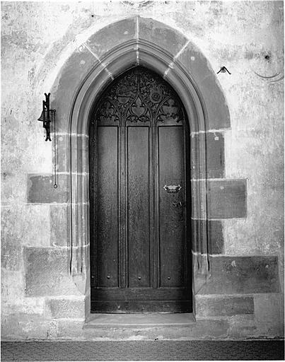Porte et vantail
