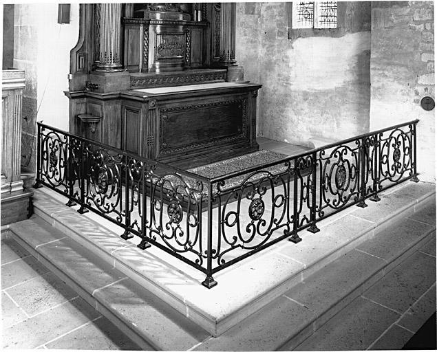 Ensemble de 2 clôtures d'autel