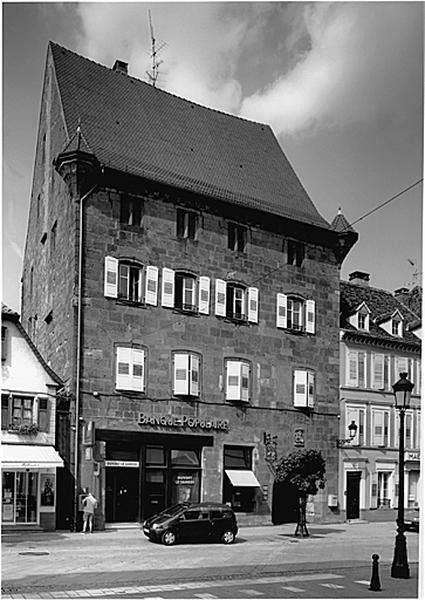Maison dite Holzapfel et Burgerhof