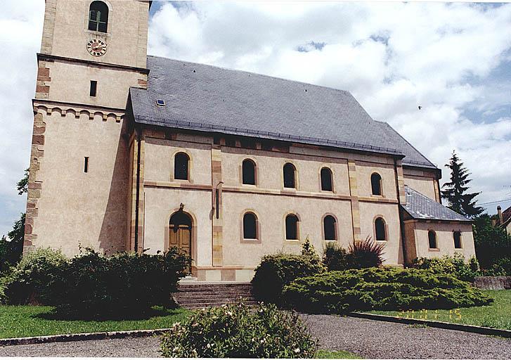Église paroissiale Saint-Adelphe, église luthérienne (simultaneum)