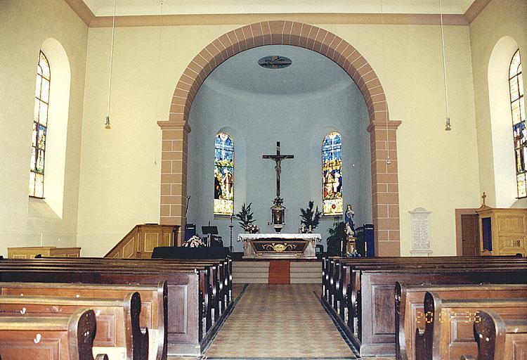 Église paroissiale Tous-les-Saints, église luthérienne (simultaneum)