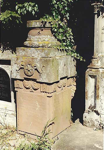 tombeau de Johann Michael Lorenz