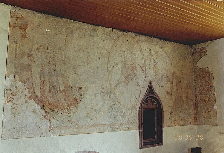 Peinture monumentale : Jugement dernier, Adoration des mages