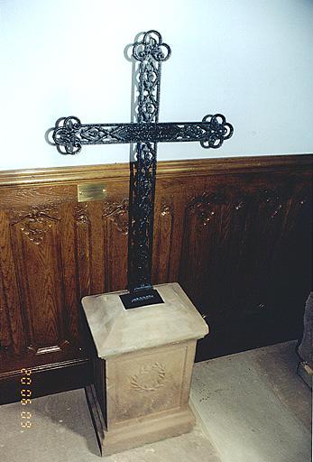 tombeau du pasteur Frédéric Brehmer
