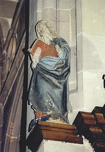 Statues : saint Philippe et saint Jacques le Mineur