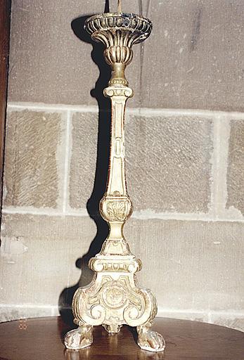 Ensemble de six chandeliers du maître-autel