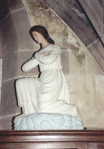 Statue : ange du maître-autel