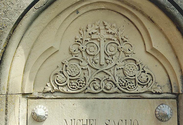 Tombeaux des familles Saglio et Bastien