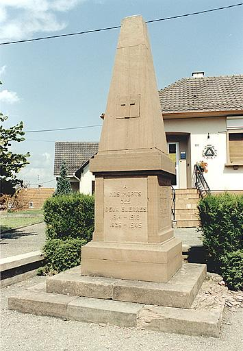 monument aux morts (B)
