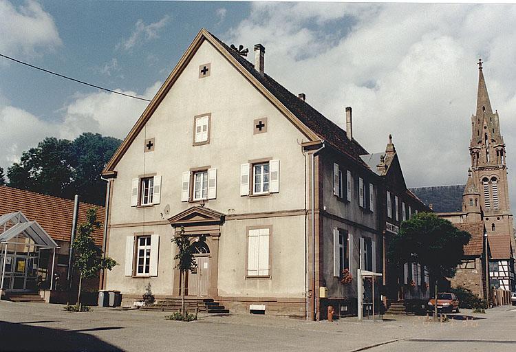 école, mairie