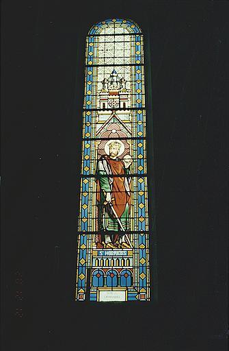 verrière : saint Henri.