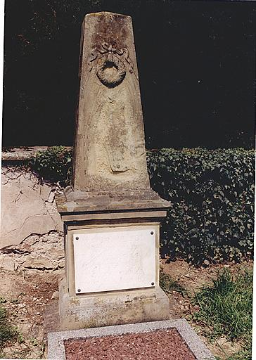 le mobilier du cimetière (liste supplémentaire)