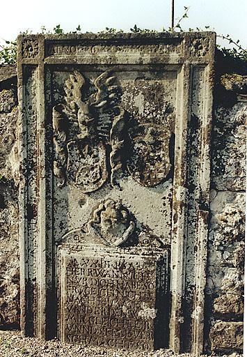 Dalle funéraire de Johan Ludwig Eichelstein