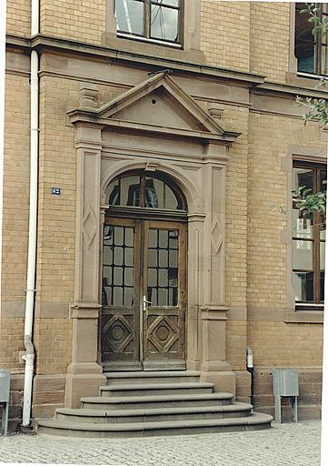 École, chancellerie